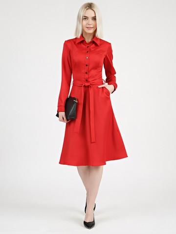 Платье pransy, цвет красный