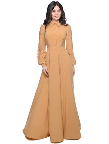 Платье ashley, цвет бежевый