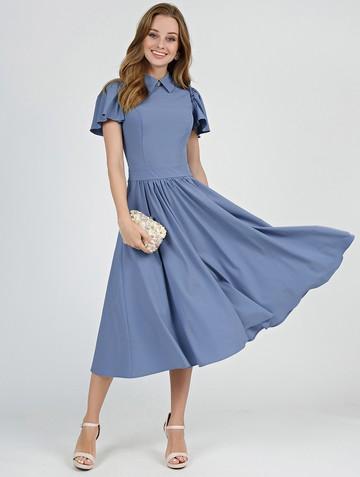 Платье luselia, цвет серо-голубой