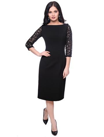 Платье roksana, цвет черный