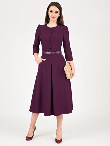 Платье lilany, цвет сливовый