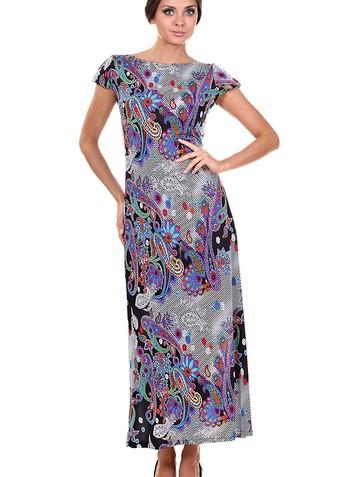 Платье princes, цвет полоска с огурцами