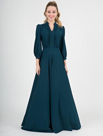 Платье miroslava, цвет бирюзово-зеленый