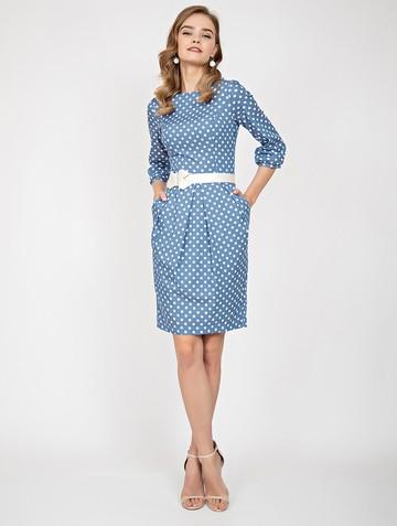 Платье dayan, цвет голубой