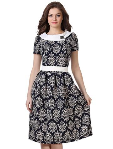 Платье dona, цвет темно-синий