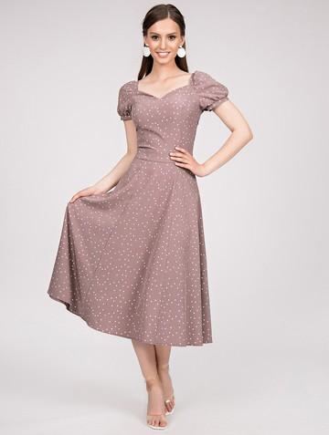 Платье gretchen, цвет капучино