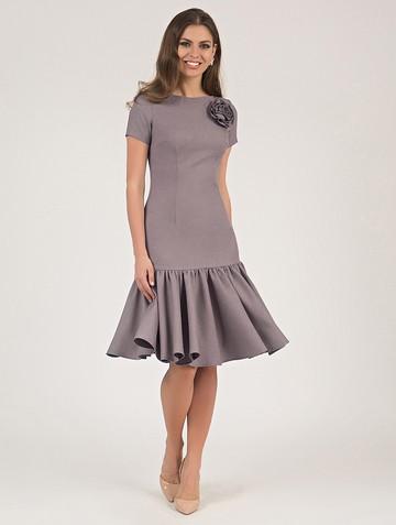 Платье vayolet, цвет серо-лиловый
