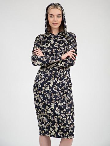 Платье ivy, цвет сине-желтый