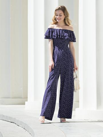 Комбинезон kadary, цвет фиолетовый