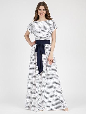 Платье tayva, цвет бело-синий
