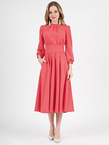 Платье nalva, цвет лососевый
