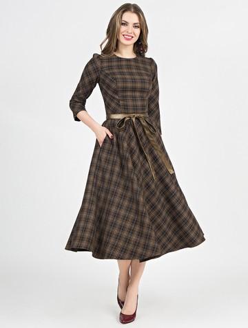 Платье traviata, цвет шоколадный