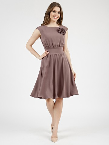 Платье beladonna, цвет капучино