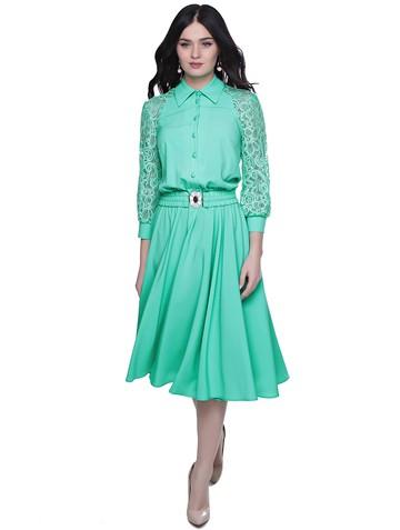 Платье rikky, цвет мятный