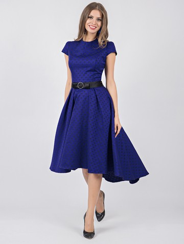 Платье djufina, цвет черно-синий
