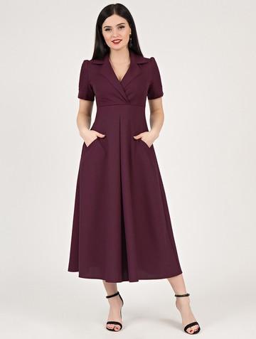 Платье lourdes, цвет сливовый