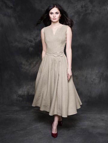 Платье neveda, цвет бежевый