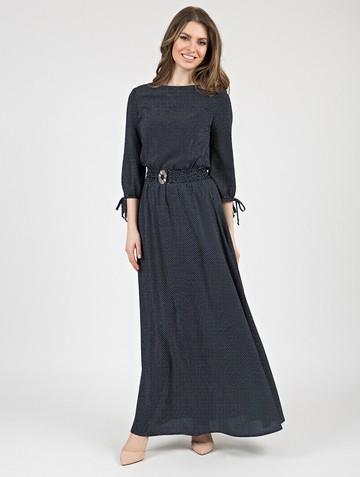 Платье assanta, цвет чернильный