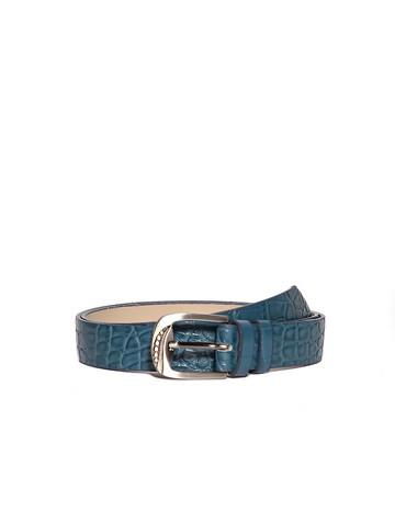 Ремень Rm-005, цвет сине-зеленая репт