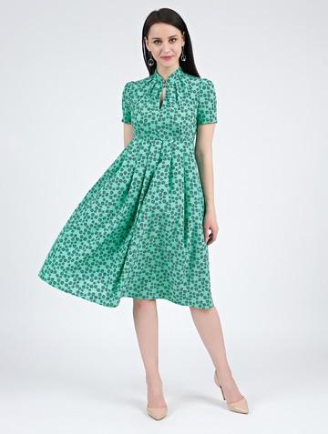 Платье irna, цвет бирюзово-синий