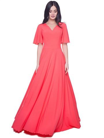 Платье mara, цвет лососевый