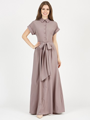 Платье rikarda, цвет капучино