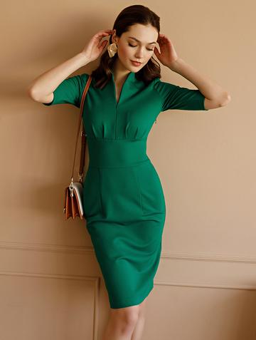Платье flippy, цвет изумрудный