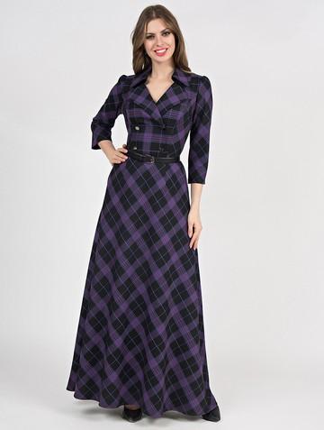 Платье lafetta, цвет черно-голубой