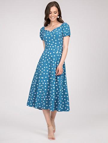 Платье gretchen, цвет серо-голубой