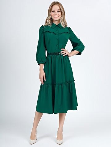 Платье naila, цвет темно-зеленый