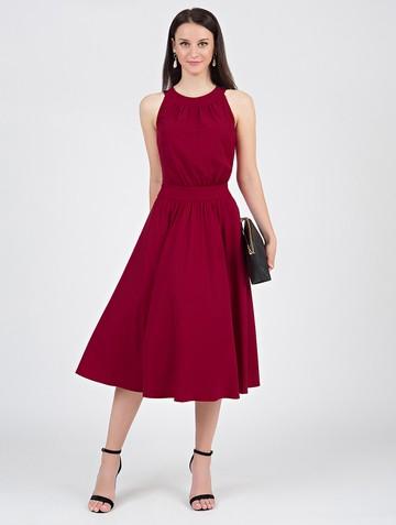 Платье taura, цвет гранатовый