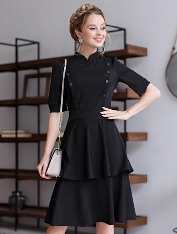 Платье lisipa, цвет черный