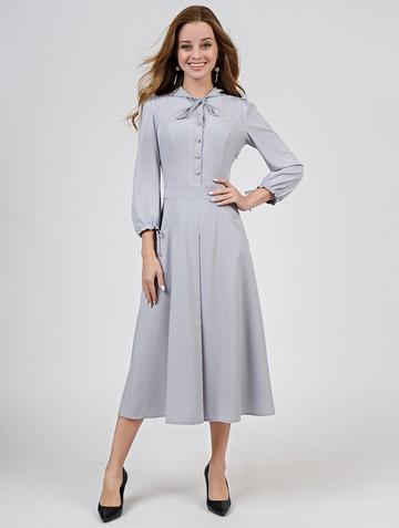 Платье alana, цвет светло-серый
