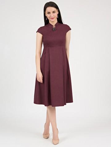 Платье maru, цвет мареновый