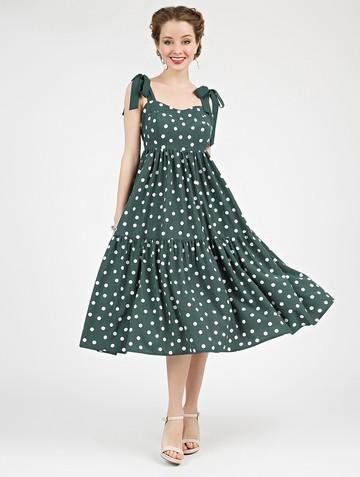 Платье mexy, цвет зеленый