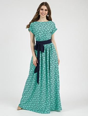 Платье tayva, цвет бирюзово-синий