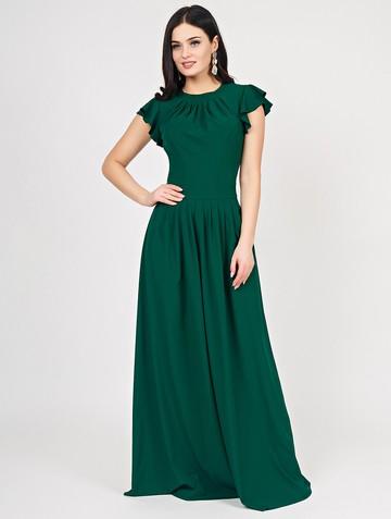 Платье shony, цвет изумрудный