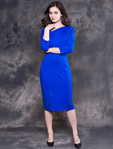 Платье keyko, цвет темно-голубой