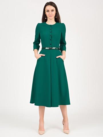 Платье lilany, цвет изумрудный