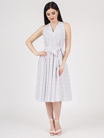 Платье serafima, цвет бело-черный