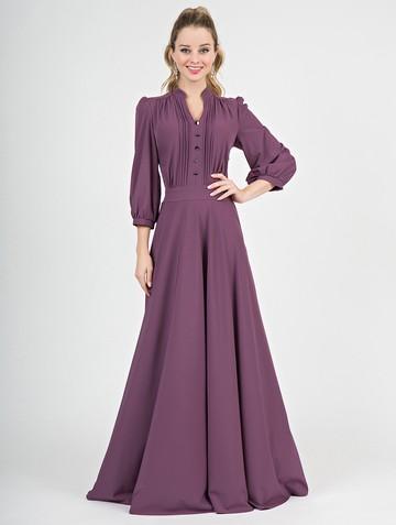 Платье miroslava, цвет лиловый