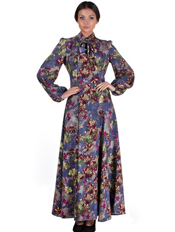 Платье tissa, цвет темно-серый