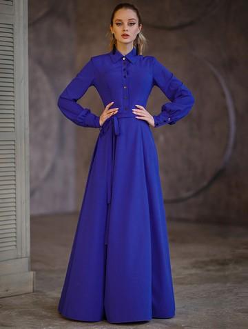 Платье labella, цвет ультрамарин
