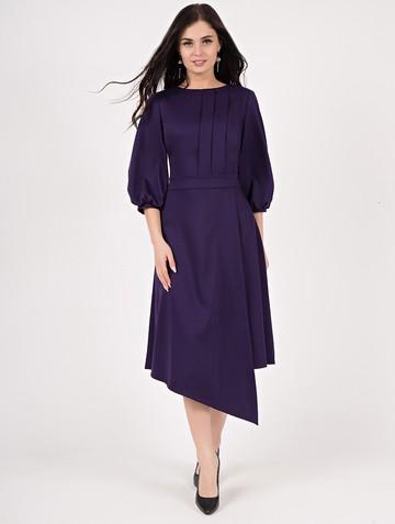 Платье djuma, цвет темно-фиолетовый