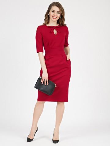 Платье brisby, цвет красный
