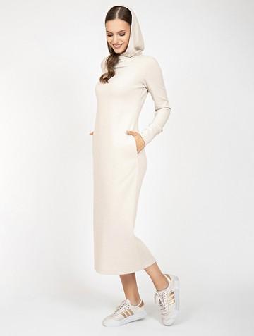 Платье duncan, цвет молочный
