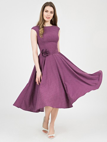 Платье midora, цвет фиолетовый
