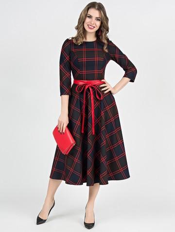 Платье traviata, цвет шоколадно-красный