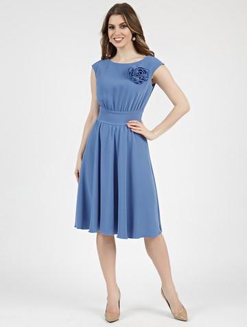 Платье beladonna, цвет серо-голубой