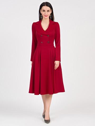 Платье anissa, цвет красный